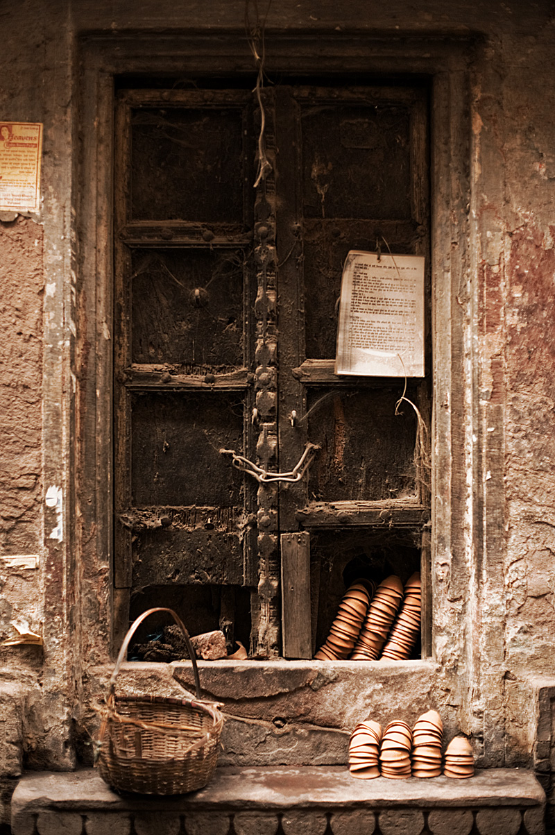 An old window uncleaned for years. - Varanasi, Uttar Pradesh, India - Daily Travel Photos