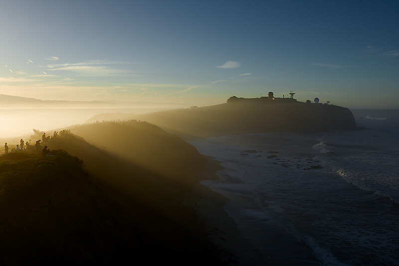 The cliffs overlooking Maverick's big wave surf competition. - Half Moon Bay, California, USA - Daily Travel Photos