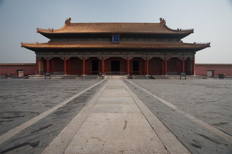 Forbidden City hall building after rains. - Beijing, China - Daily Travel Photos