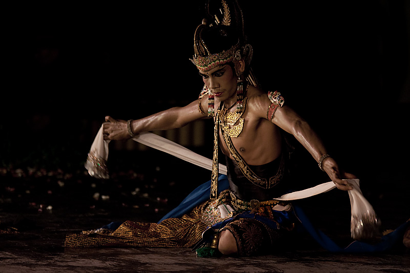 Hindu epic, Ramayana performance. - Jogjakarta, Java, Indonesia - Daily Travel Photos