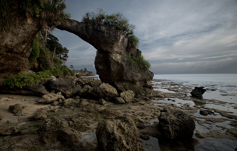 A natural arch near the ocean. - Neil Island, Andaman Nicobar Islands, India - Daily Travel Photos