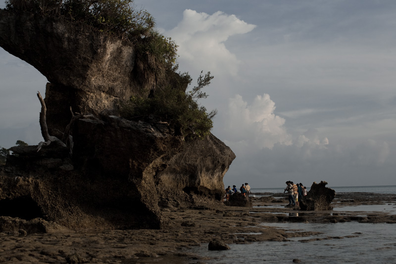A natural arch formed by erosion. - Neil Island, Andaman Nicobar Islands, India - Daily Travel Photos