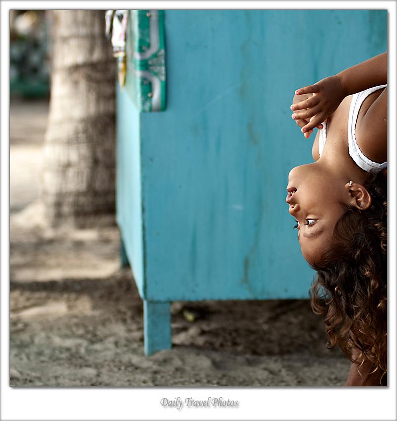 A young Balinese girl - Kuta, Bali, Indonesia - Daily Travel Photos