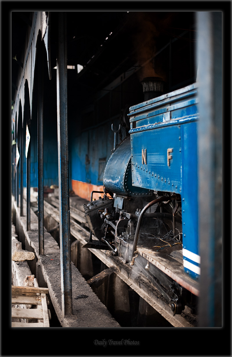 Narrow gauge toy train - Darjeeling, West Bengal, India - Daily Travel Photos