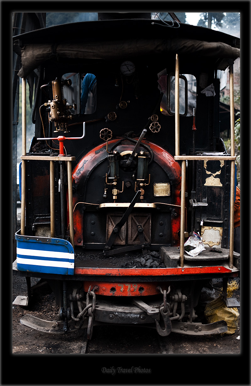 Coal furnace of a narrow gauge toy train - Darjeeling, West Bengal, India - Daily Travel Photos