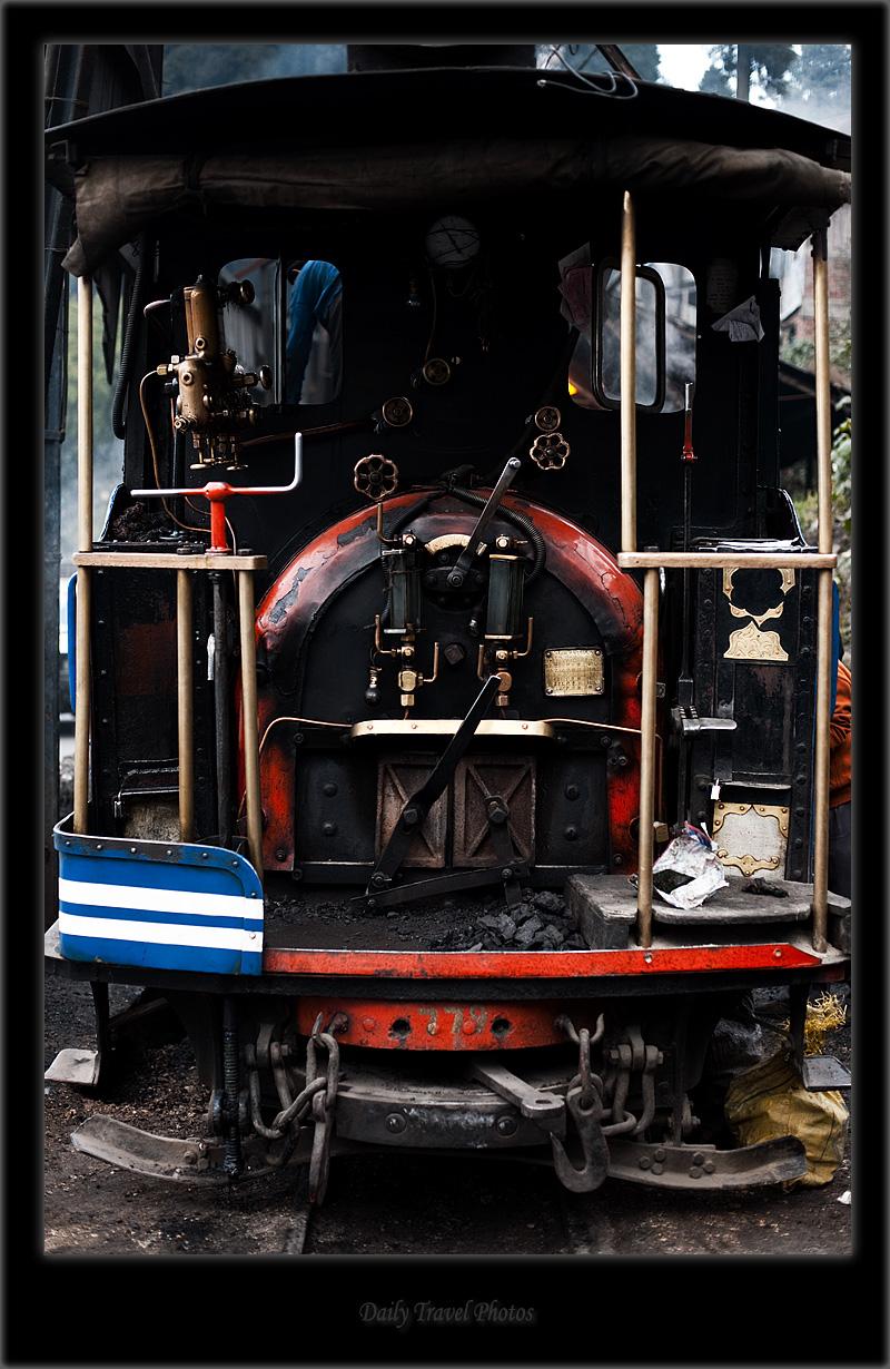 Coal furnace of a narrow gauge toy train - Darjeeling, West Bengal, India - Daily Travel Photos