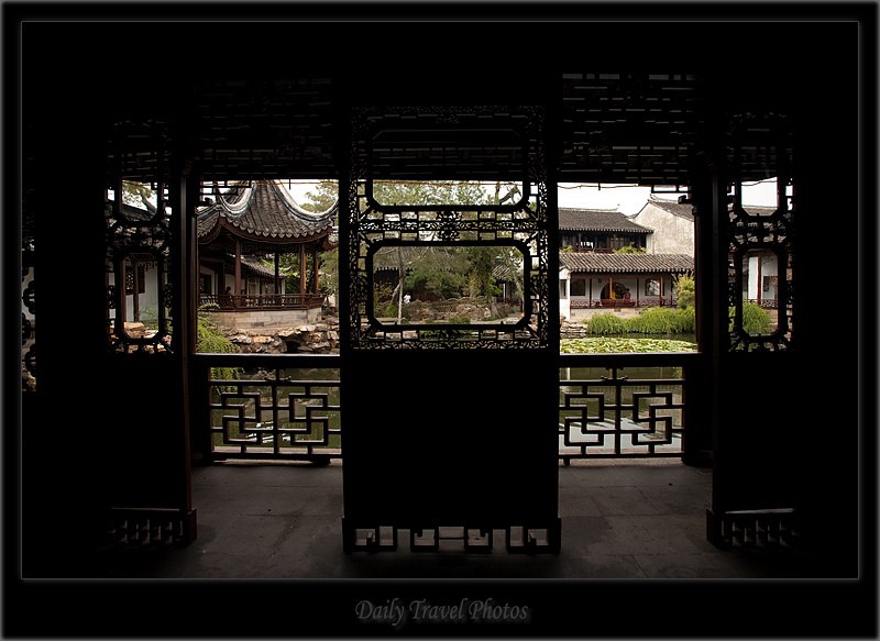 Master of Nets garden in well manicured mansion - Suzhou, Jiangsu, China - Daily Travel Photos