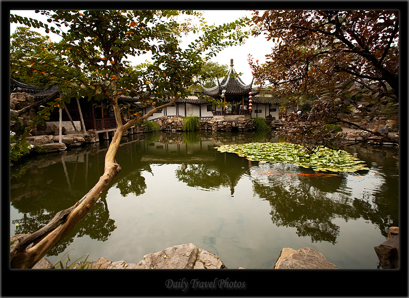 Pond - Suzhou, Jiangsu, China - Daily Travel Photos