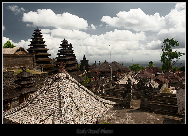 Besakih hindu temple architecture - Bali, Indonesia - Daily Travel Photos
