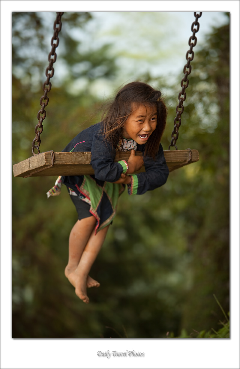 Swinger (Miao Minority II) - Biasha, Guizhou, China - Daily Travel Photos