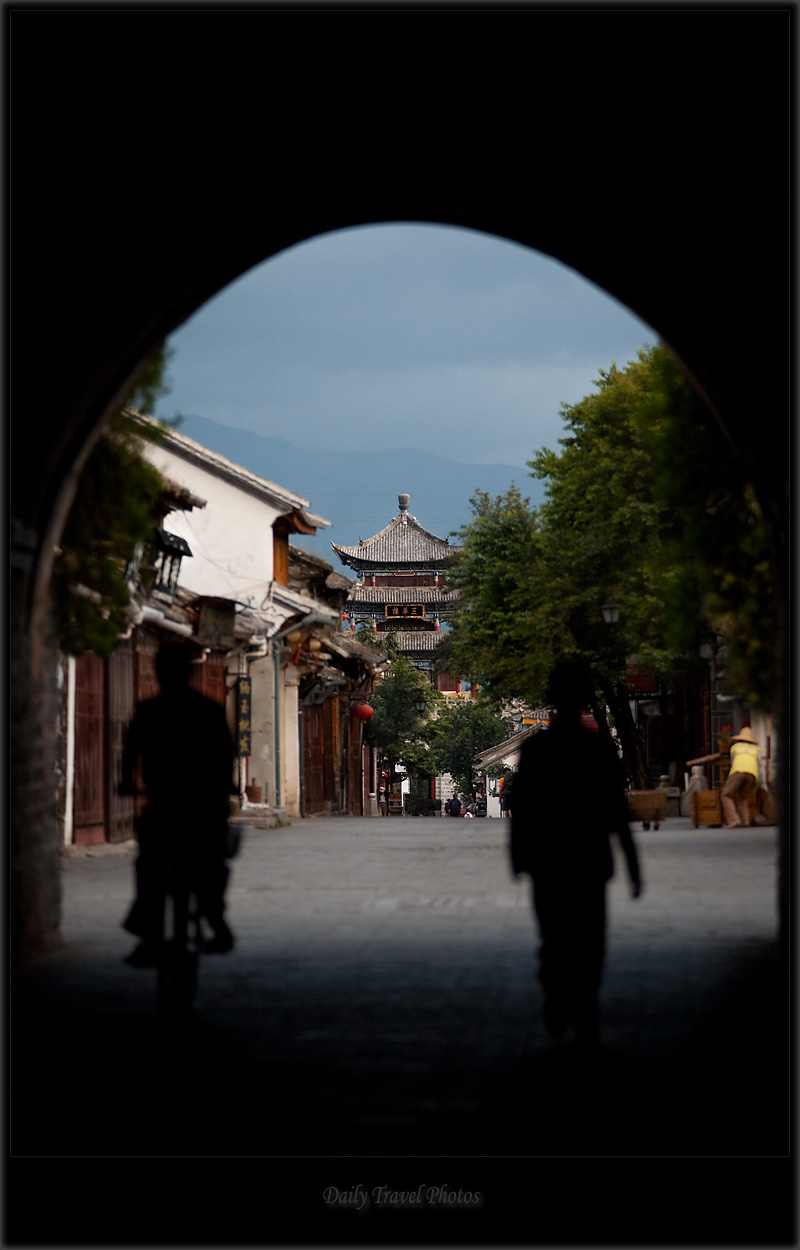The south gate tunnel to the old town - Dali, Yunnan, China - Daily Travel Photos
