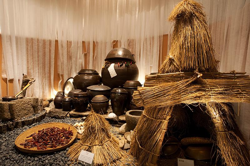 Kimchi Museum Outdoor Exhibit - Seoul, South Korea - Daily Travel Photos