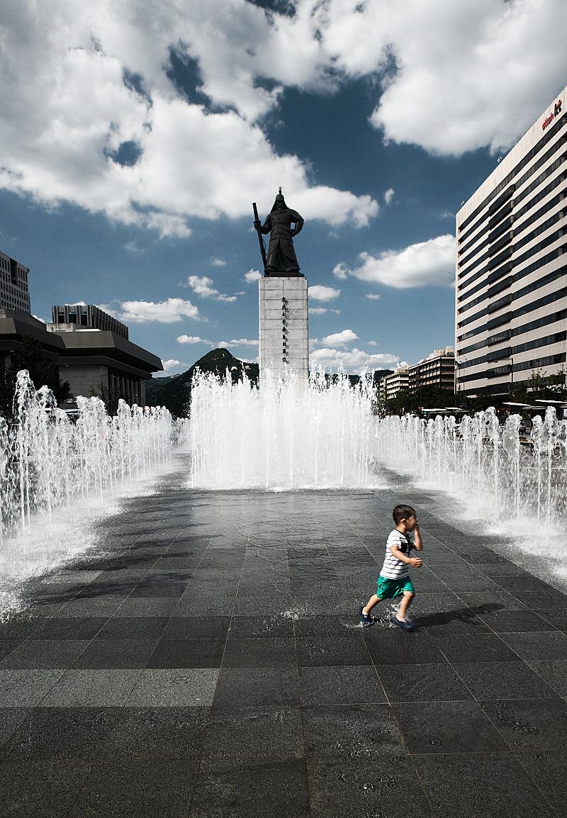 The Admiral Yi Sun Sin Close Up - Seoul, South Korea - Seoul, South Korea - Daily Travel Photos