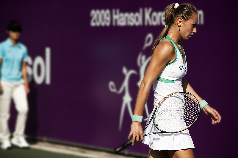 Magdalena Rybarikova Slovak Tennis Star Hansol Open 2009 - Seoul, South Korea - Daily Travel Photos