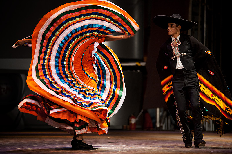 Traditional Mexican Dance Baile Folklorico Colorful Dress 1 - Seoul, South Korea- Daily Travel Photos