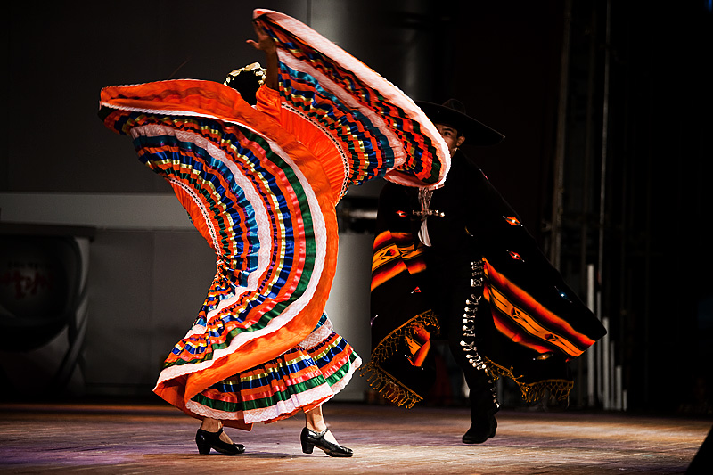 Traditional Mexican Dance Baile Folklorico Colorful Dress  3 - Seoul, South Korea - Daily Travel Photos