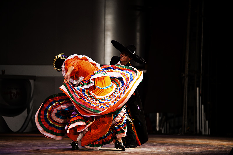 Traditional Mexican Dance Baile Folklorico Colorful Dress 4 - Seoul, South Korea - Daily Travel Photos