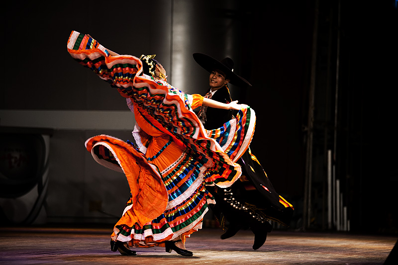 Traditional Mexican Dance Baile Folklorico Colorful Dress 5 - Seoul, South Korea - Daily Travel Photos