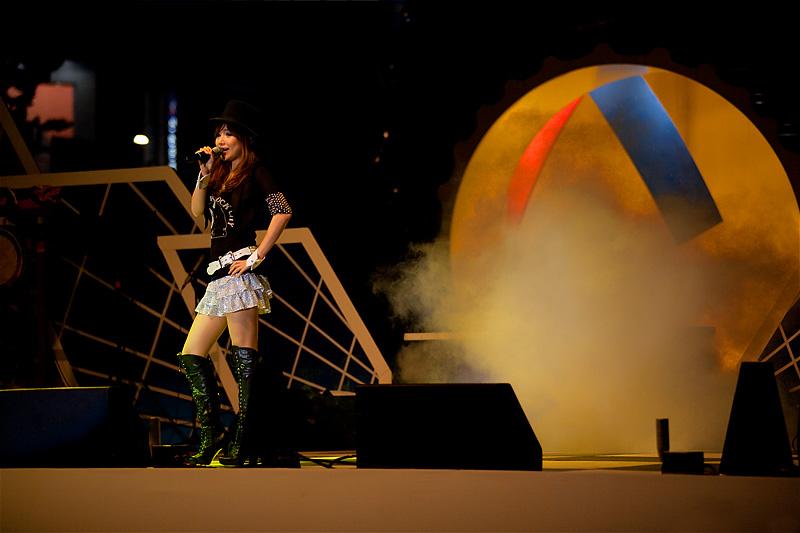 Concert Japanese-Korean Beautiful Singer High Boots - Seoul, South Korea - Daily Travel Photos