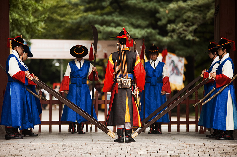Changing Guards Ceremony Deoksugung Palace Daehanmun - Seoul, South Korea - Daily Travel Photos