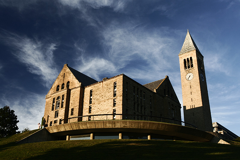 Cornell University Uris Library Mcgraw Tower - Ithaca, New York, USA - Daily Travel Photos