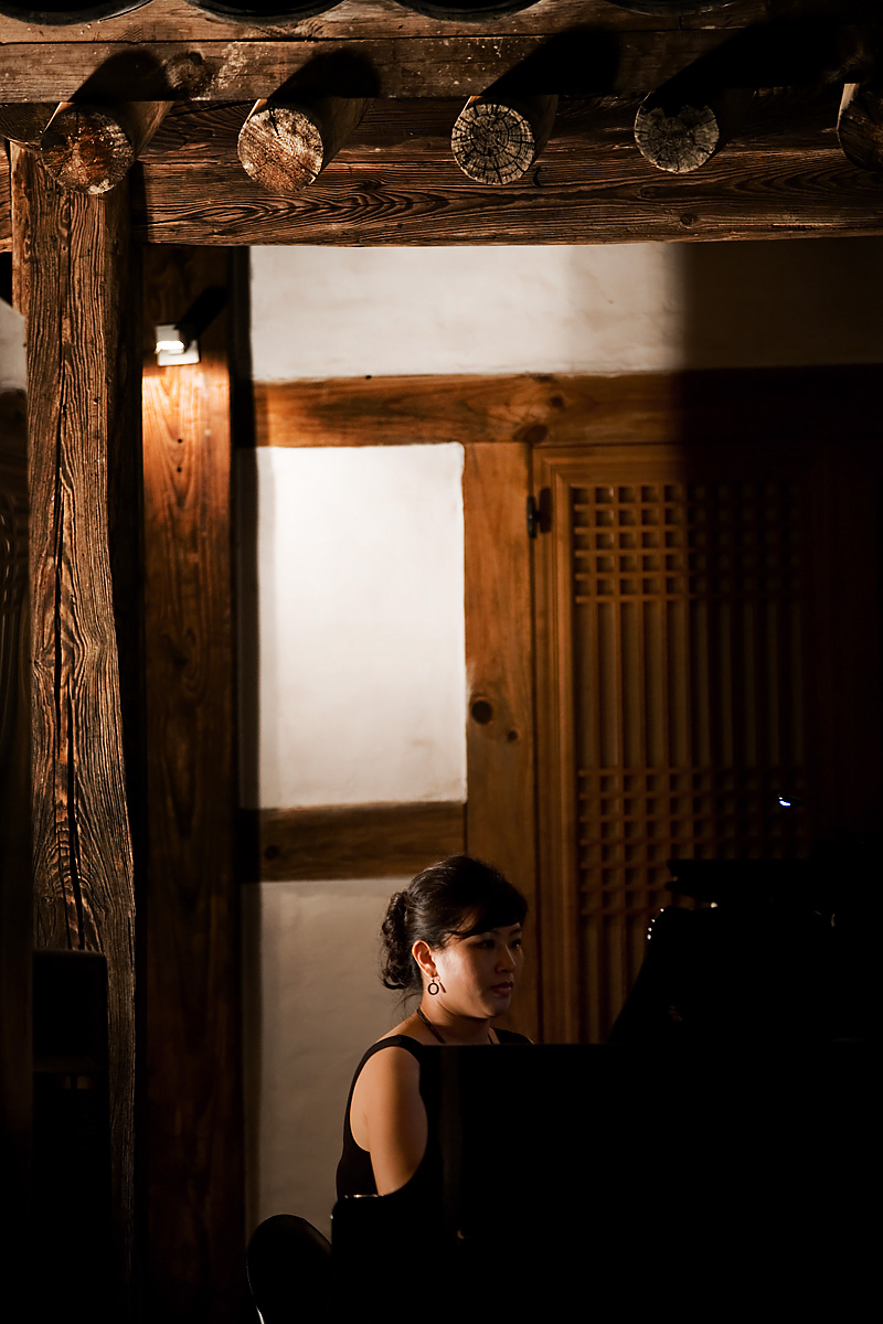Classical Music Recital Pianist Kim Min Su Traditional House - Daejeon, South Korea - Daily Travel Photos