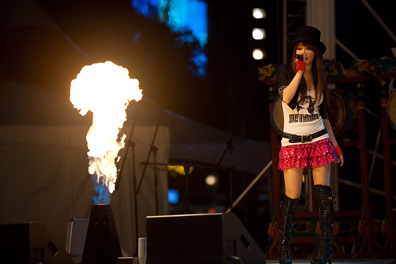 Japanese Korean Singer Concert Cheonggyecheon Overseas Fire - Seoul, South Korea - Daily Travel Photos