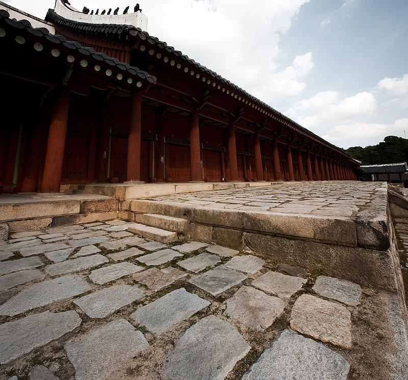 Jongmyo Jeongjeon Main Hall Side - Seoul, South Korea - Daily Travel Photos