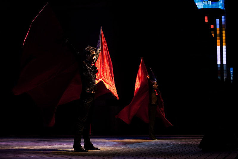 Encounters World Cultures Dracula Dance Cape Spread - Seoul, South Korea - Daily Travel Photos