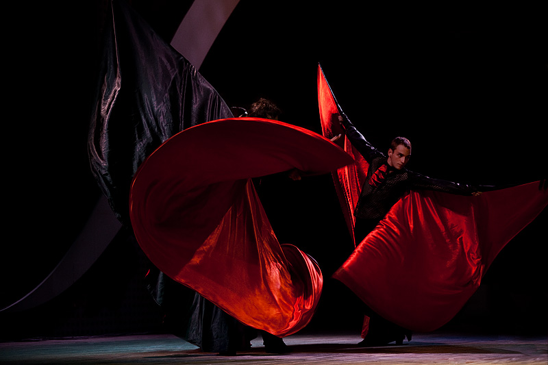 Encounters World Cultures Dracula Capes Twirling - Seoul, South Korea - Daily Travel Photos
