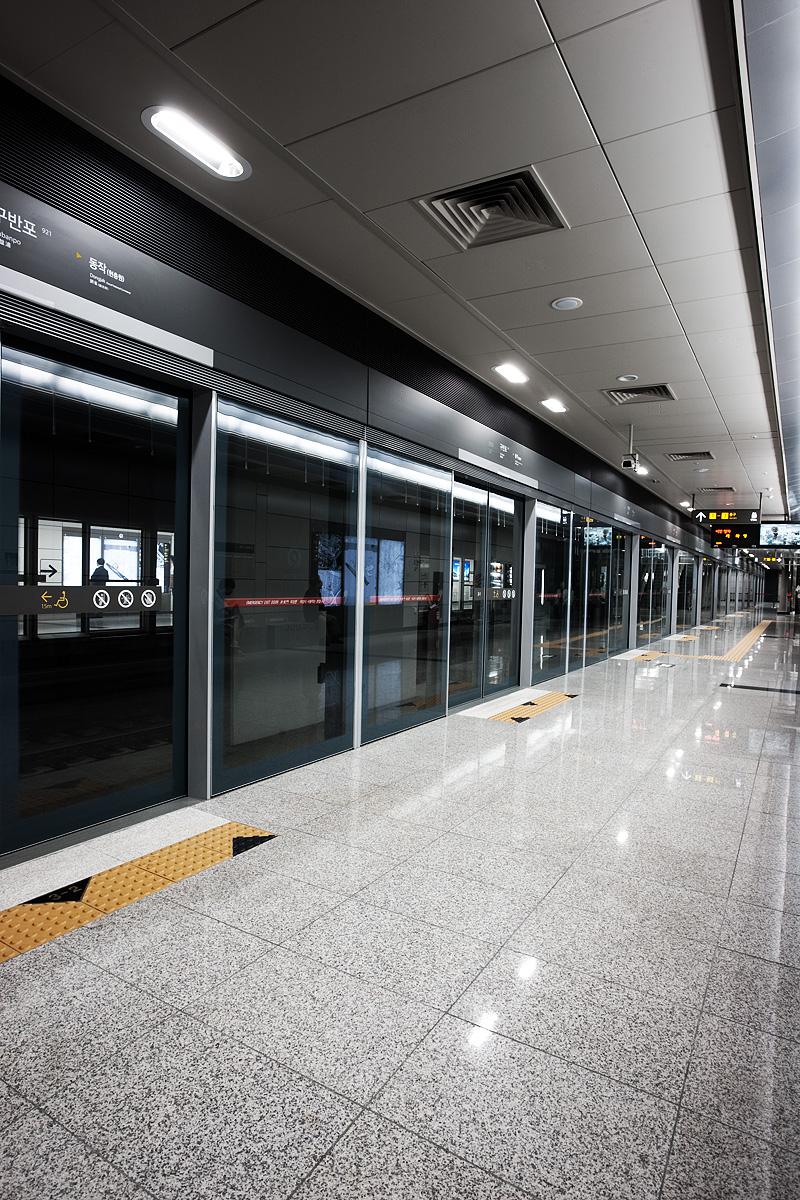 Subway Line Nine Gubanpo Station Metro Clean - Seoul, South Korea - Daily Travel Photos