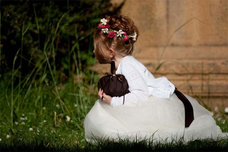 Wedding Flower Girl - Vancouver, British Columbia, Canada - Daily Travel Photos