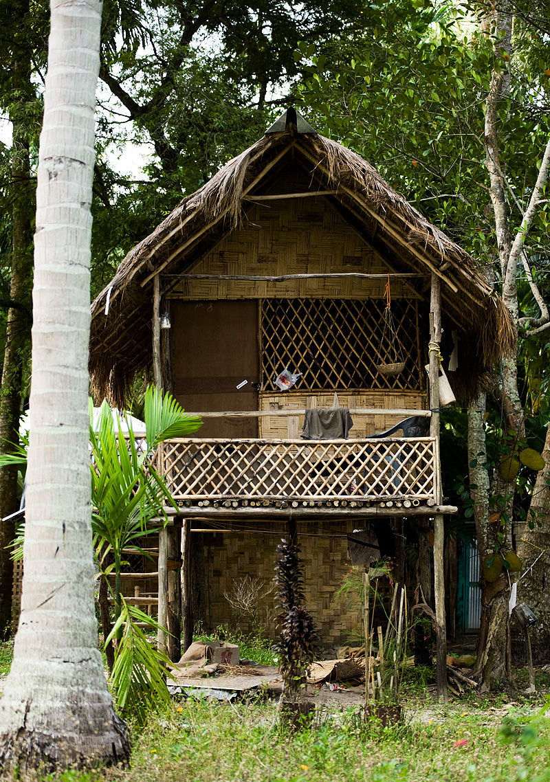 Two Story Hut Budget  Accommodations Leisure - Havelock Island, Andaman, India - Daily Travel Photos