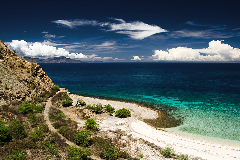 Beach Clear Turquoise Waters Island Headland - Dili, East Timor - Daily Travel Photos