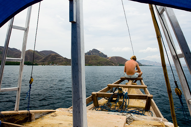 Boat Safari Chris Bow Reading - Komodo Island, NTT, Indonesia - Daily Travel Photos