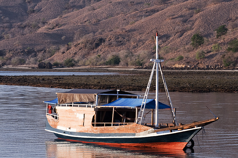 Boat Safari Docked - Komodo Island, NTT, Indonesia - Daily Travel Photos