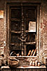 Ancient Window Photo: A window in the labyrinthine old section of Varanasi.