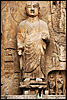 Lone Admirer Photo: Buddhist carvings at the UNESCO World Heritage site in Luoyang.