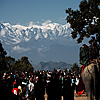 Himalayan Backdrop Photo: People gather for the annual Bandipur Festival featuring rides, shows, food and incredible mountain views.