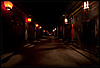 Lanterns Photo: An empty street in beautiful Pingyao.  Pingyao is one of the few places in China with preserved traditional Chinese architecture.