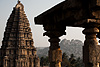 Stones Photo: The Virupaksha Temple (left) in Hampi.  The three elements of this photo (temple, rocks, carvings) sum up Hampi's surroundings in a nutshell.
