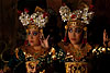 Eyes (Legong Dance I) Photo: Coordinated dance with mesmerizingly precise eye movement called the Legong dance.  The dancing is accompanied by an instrument called the gamelan (photo from April 9, 2009).