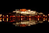 Potala Reflection Photo: The nightly fountain show leaves a glassy reflective surface of the Potala Palace.
