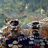 Gameplan  (Miao III) Photo: Miao ethnic minority women meet before a performance for a local festival.