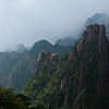 Crags (Huangshan I) Photo: Weekend warrior retreat, Huangshan (Yellow Mountain), offers a glorious natural getaway from the hustle of overcrowded city life.  The views and trekking opportunities are nearly unparalleled in China.  However, avoid the busy weekends or summer months, lest you desire to share your peace of mind with half of Shanghai's population.