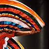 photo: Mexican Ballet - A couple performs a traditional Mexican dance on the stage at Seoul plaza in front of Seoul city hall.  Dance troupes from various countries came to Korea to participate in a cultural dance exchange during the Encounters with World Cultures in Seoul.