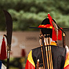 photo: Seoul Sentinels - Protecting the palace gates (대한문) during the daily changing of the guards ceremony at Deoksugung (덕수궁) palace.