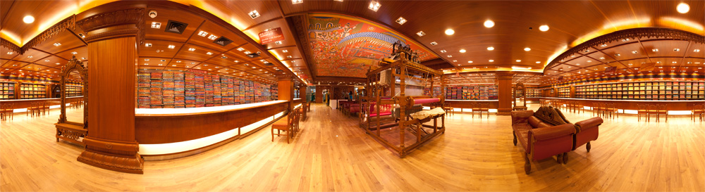 360 Degree Panorama of the RmKV Silk Saree Showroom. - Tirunelveli, Tamil Nadu, India - Daily Travel Photos