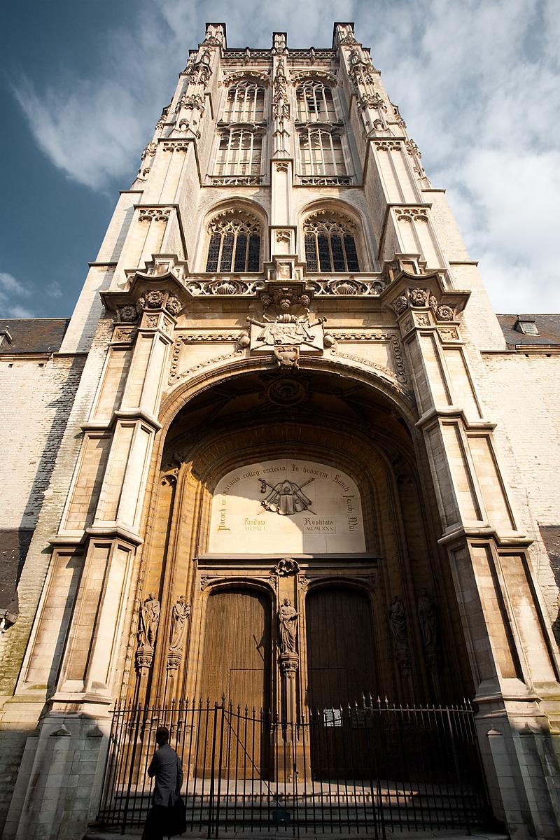 Sint Jacobskerk (St. James Church) front entrance. - Antwerp, Belgium - Daily Travel Photos