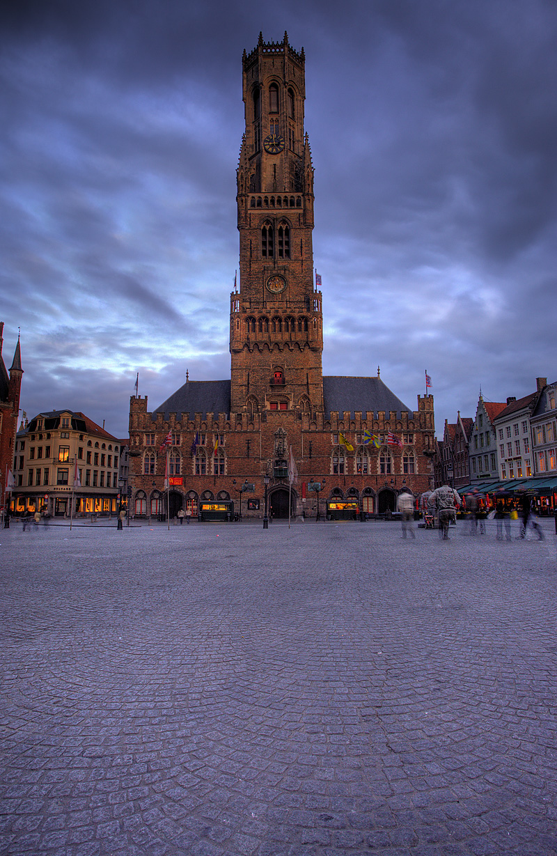 The belfry at Grote Markt square. - Brugge, Belgium - Daily Travel Photos
